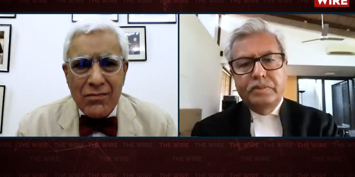 Watch | 'A Great Name in Law and a Man of Humour': Dushyant Dave Remembers Soli Sorabjee