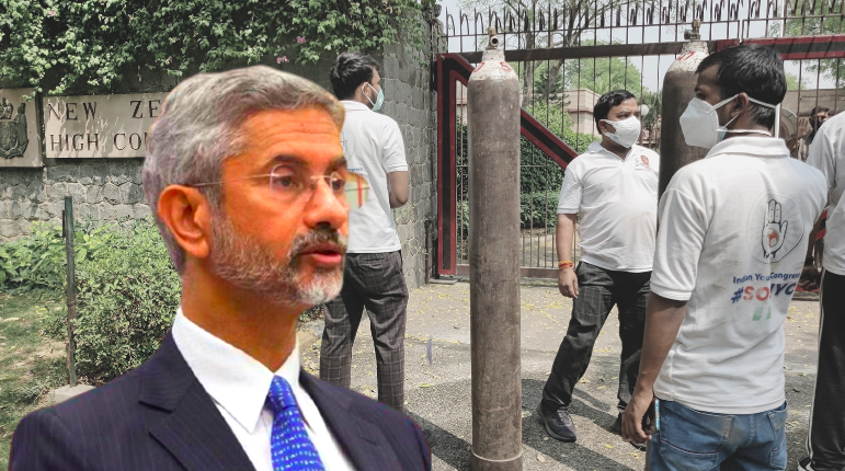 Jaishankar in Twitter Spat After Youth Congress Supplies Oxygen to 2 Foreign Missions