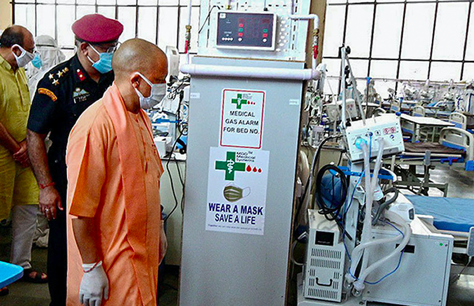 UP Police Lodge FIR Against Lucknow Hospital Which Put Up 'Oxygen Shortage' Notice