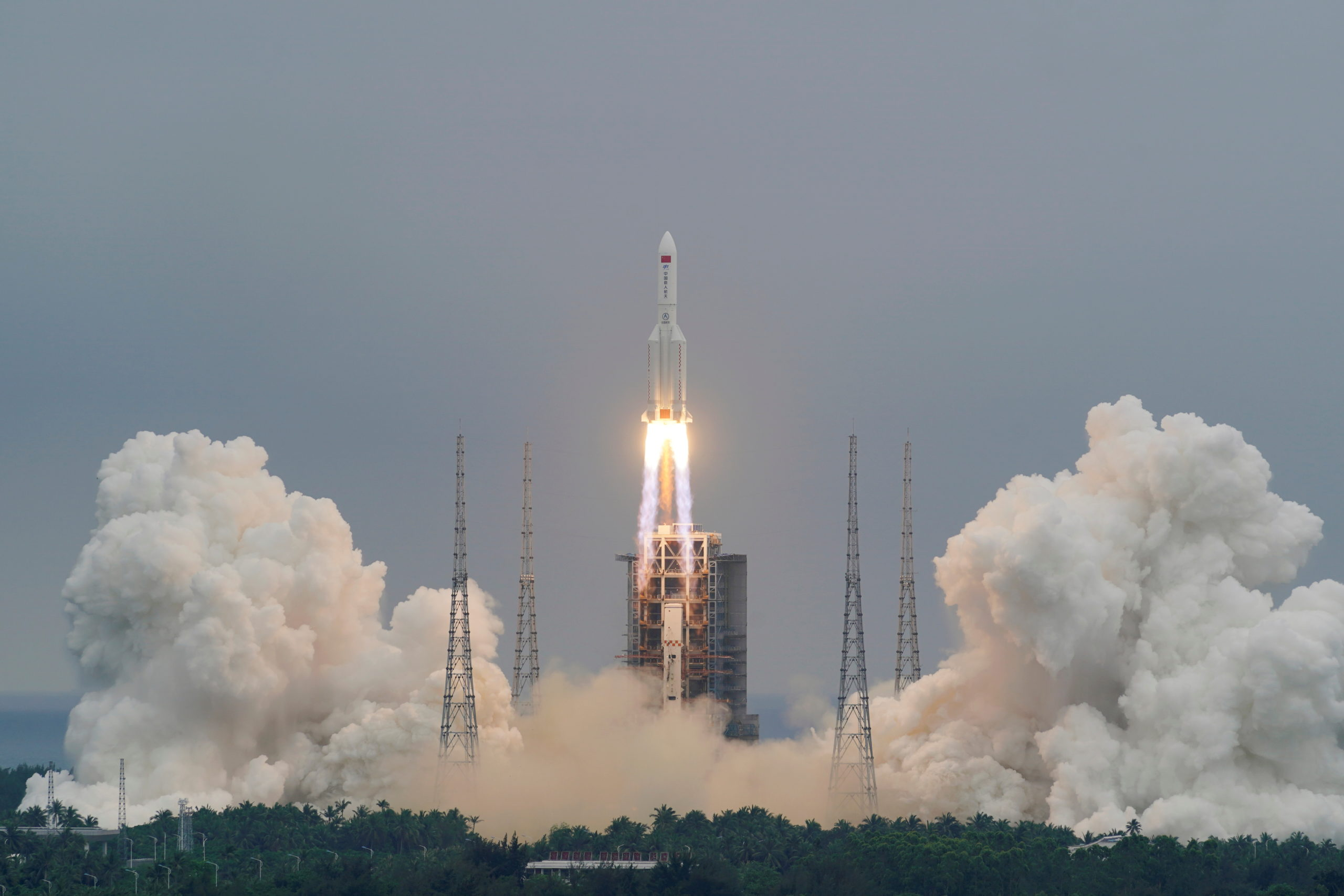 Long March 5B: Chinese Rocket Debris Lands in Indian Ocean, NASA Miffed – The Wire Science