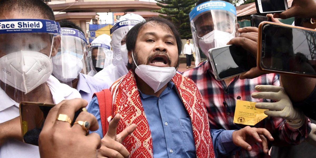 Still Incarcerated, Peasant Leader Akhil Gogoi Is Sworn in as Assam MLA