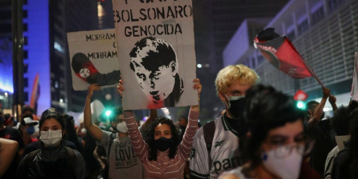 Brazilians Stage Nationwide Protests Against President Bolsonaro's COVID Response