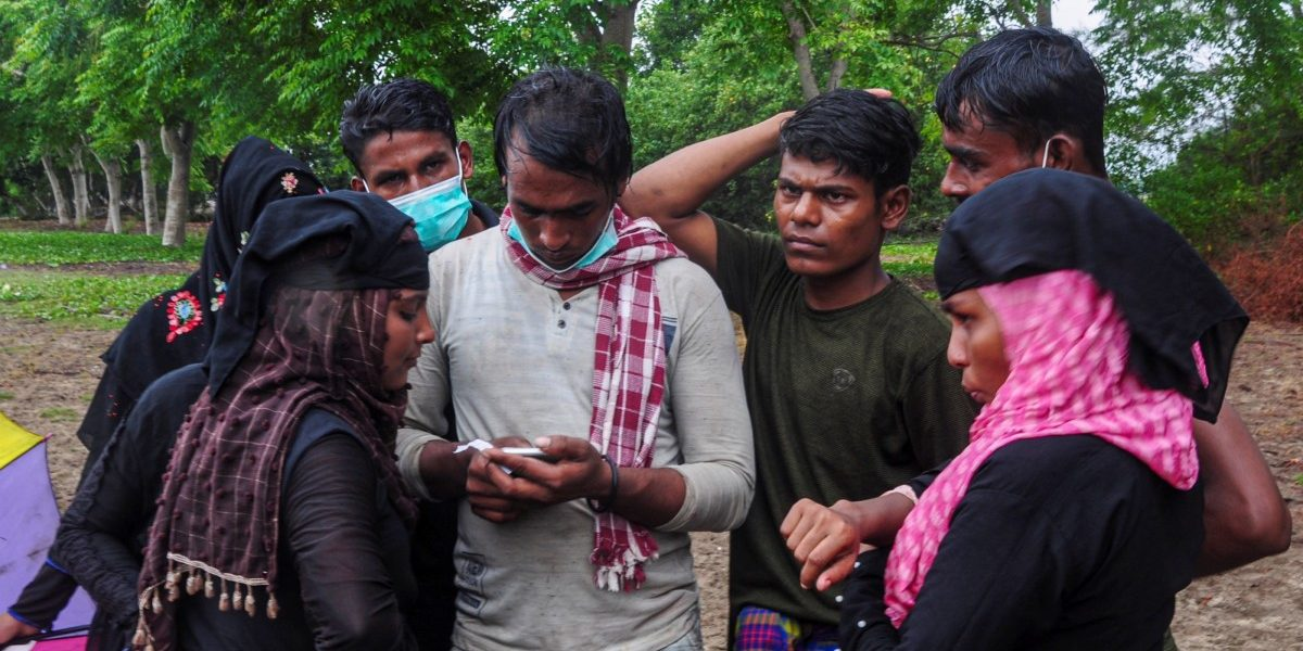 Rohingya Refugee Boat Lands in Indonesia After 113 Days at Sea