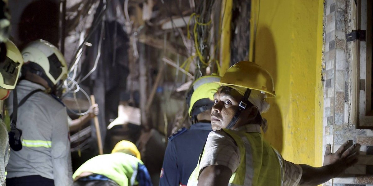 Mumbai: 1 Dead, 5 Hurt after Building Wall Collapses on House