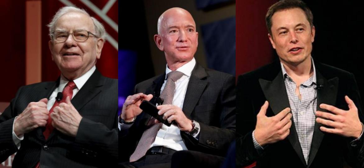 How Billionaires Like Jeff Bezos, Elon Musk and Warren Buffett Effectively Avoid Income Tax