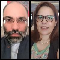 Shobhan Saxena and Florencia Costa