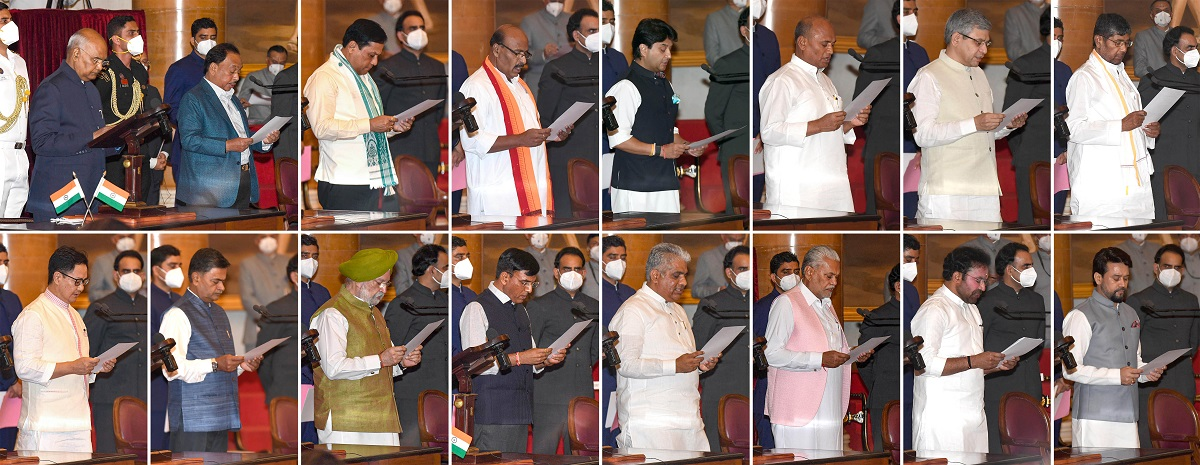 Union Cabinet Reshuffle: Full List of Ministers and Their Portfolios