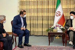 Jaishankar Meets Iran's President-Elect Raisi, Hands Over PM Modi's Personal Message
