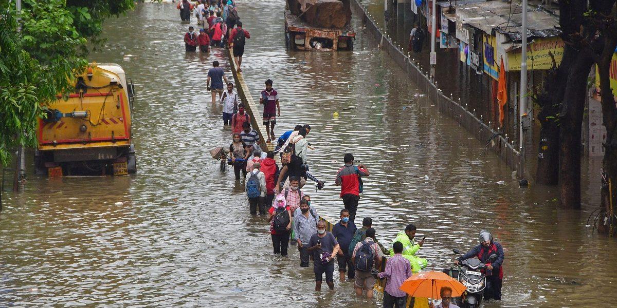 Heavy Rains in Maharashtra's Thane, Palghar Districts, NDRF Rescues 100