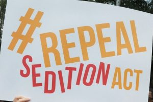 Sedition Has No Room in Modern Democracies, Time for The Law to Be Repealed