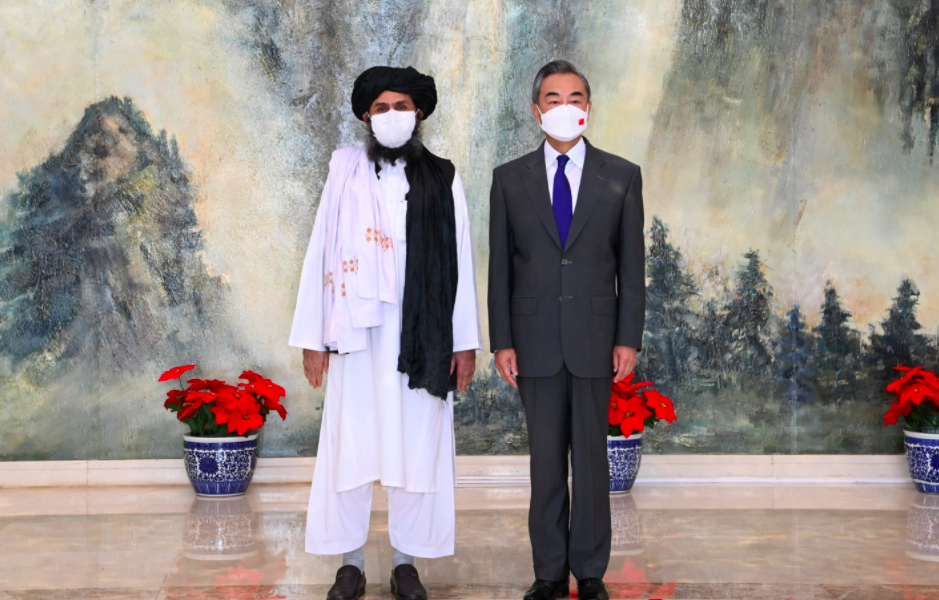 Taliban Leader Meets Chinese FM, Says Group Won't Allow Terror Forces to Operate from Afghanistan