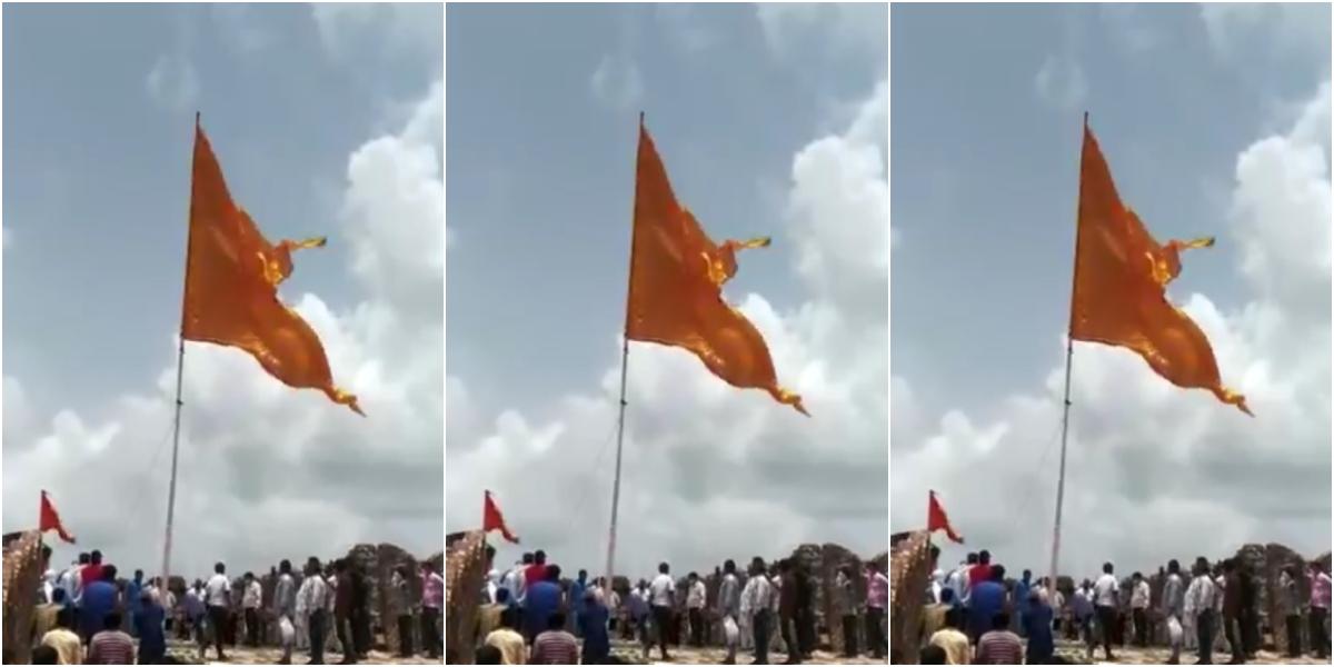 Tension Brews at Jaipur Fort as Meenas Remove Saffron Flag Hoisted by Hindutva Groups