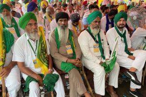 Amidst Rain, Kisan Sansad Takes on Contract Farming