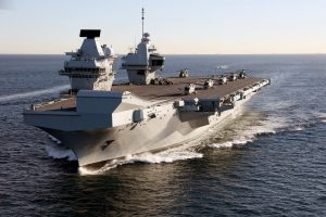 HMS Queen Elizabeth Fails to Live Up to its China Seas Billing