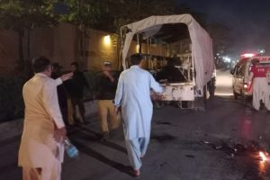 Two Policemen Killed, 12 People Injured in Quetta Bomb Blast