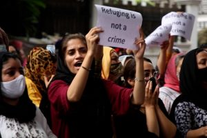 Watch   'Wake Up UNHCR': Afghan Nationals Protest in New Delhi