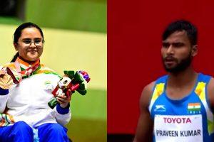 Paralympics: Avani Lekhara Wins Second Medal; Praveen Kumar Clinches Silver in High Jump