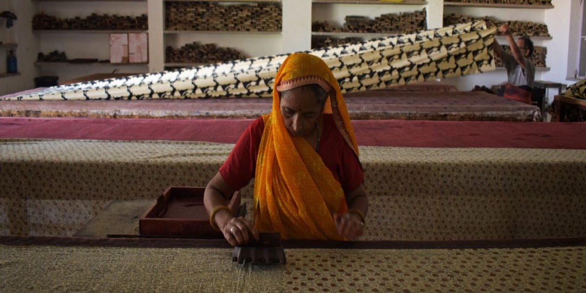 In Photos: The Fading Tradition of Hand Block Printing in Rajasthan