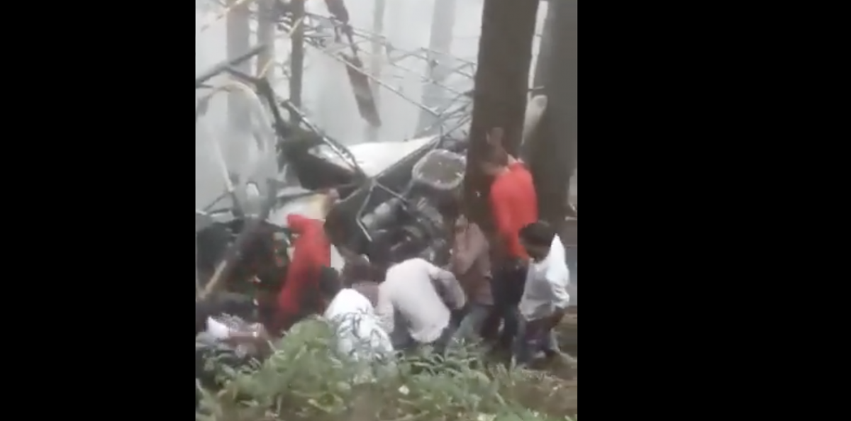 Two Indian Army Pilots Killed as Helicopter Crashes in J&K's Udhampur