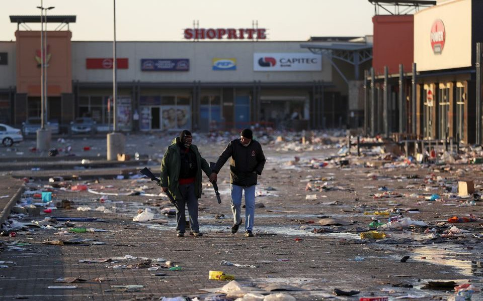 South Africa's Social Unrest Has Laid Bare Historic Wounds and Divisions