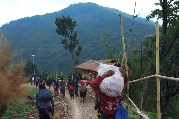 Myanmar: Thousands Flee Town Near Indian Border as Military and anti-Junta Militia Clash
