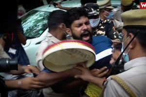 Watch | A Day After Darrang Violence, Protests Erupt Outside Assam Bhawan in Delhi