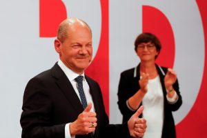 German Social Democrats Seek Allies to Replace Angela Merkel-Led Coalition