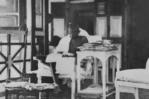 Gandhi the Futurist