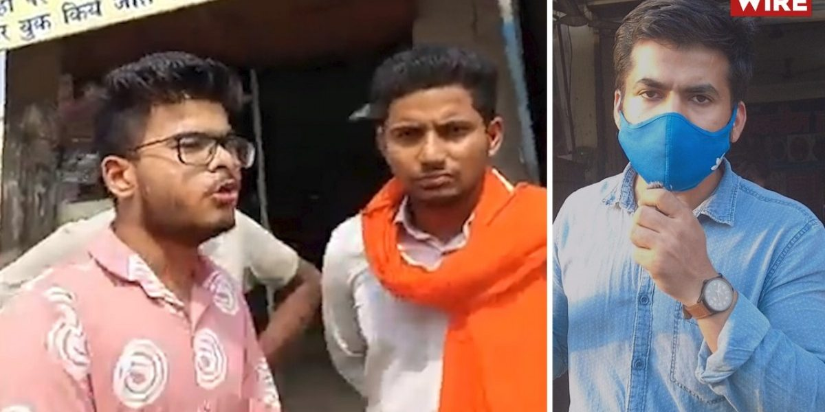 Watch: Bajrang Dal Forces Meat Shops in Faridabad to Close for Navratri