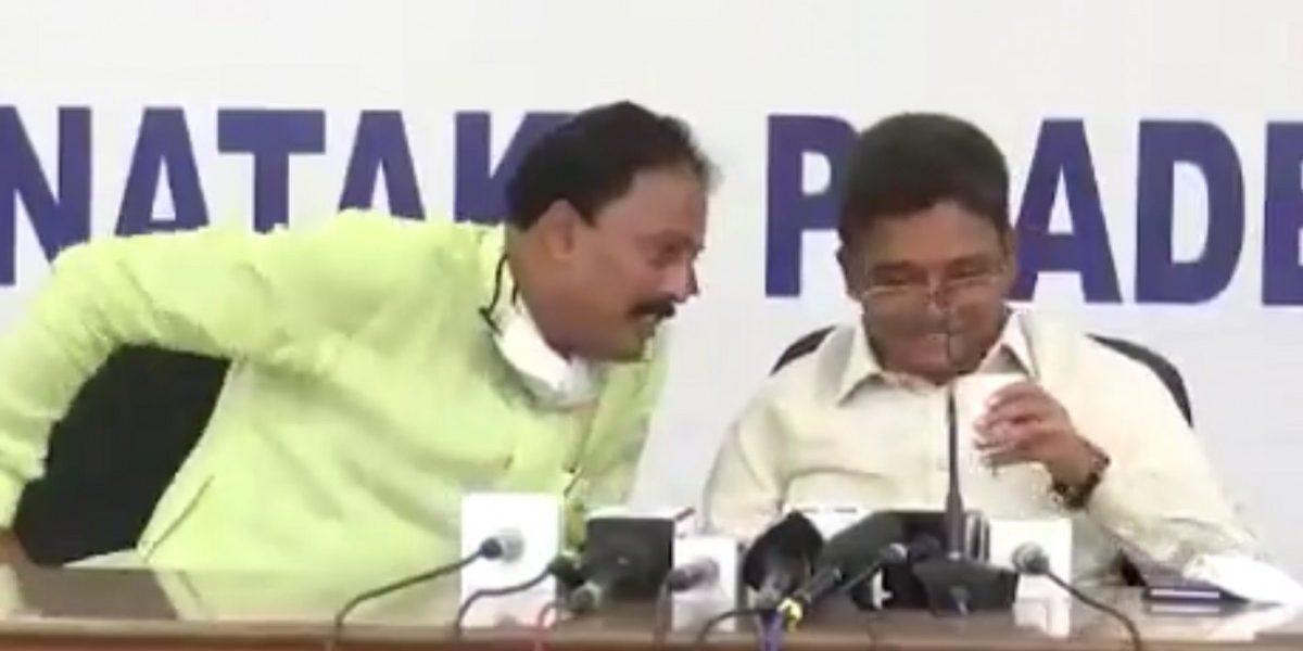 Caught on Tape: Karnataka Congress Leaders Accuse D.K. Shivakumar of Collecting Bribes
