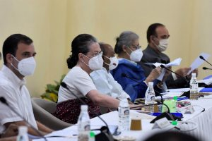 I Am a Full-Time and Hands on Congress President: Sonia Gandhi at CWC Meet