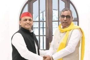 Samajwadi Party, Rajbhar's SBSP 'Join Hands' for UP Assembly Polls