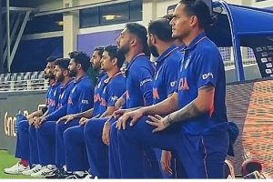 When Political Yogis Take the Knee, They Reveal the Perverse Politics of Indian Cricket